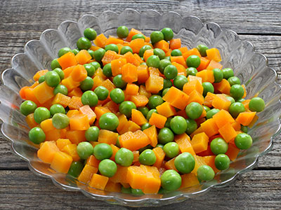 Sautéed Peas and Carrots